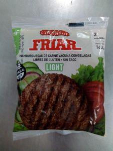 Hamburguesas Friar Light  x 2 flow - Cormillot